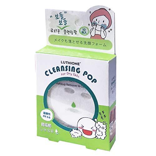 【まとめ買い】ルチオン クレンジングポップ (LUTHIONE CLEANSING POP) 乾燥肌 10枚入り ×6個