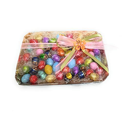 Mix di Ovetti assortiti Lindt, confezione con elegante scatola REGALO da 500gr , tantissimi gusti provali tutti! idea regalo Pasqua.