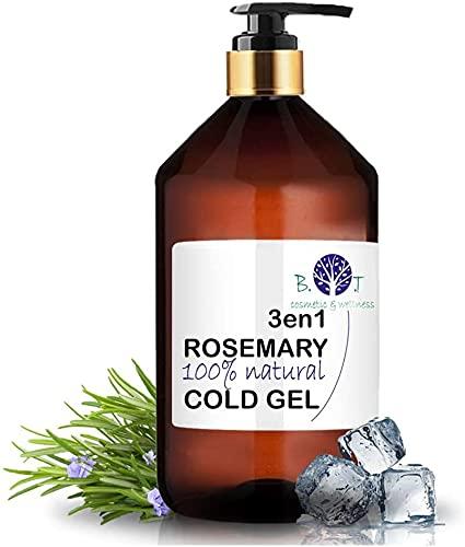 Gel de Romero 3en1 Efecto Frío, Circulación & Anti Dolor (500 ml)
