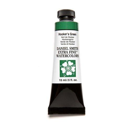 DANIEL SMITH 284600042 , Hooker's Green Extra Fine Watercolor 15ml Paint Tube, 15 ml