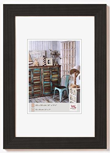 walther design HI824B Grado Holzrahmen Format 18 x 24 cm, schwarz