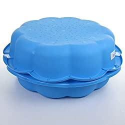Great for the garden Works as a sand pit, paddling pool, ball pit, and more... Second pool/pit can be used as a lid to keep out the elements when not in use Minimum age: 12 months Max. user weight: 30KG