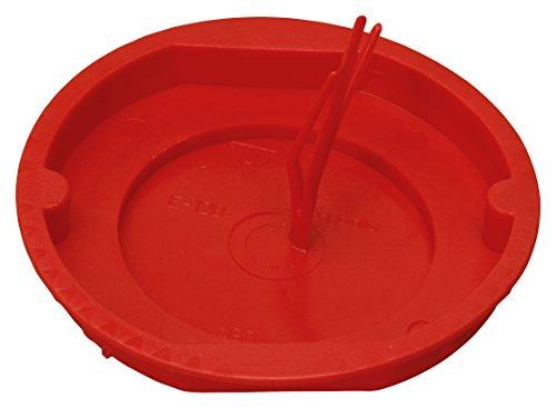 Kopp Signaldeckel Schalterdose, 60 mm, rot