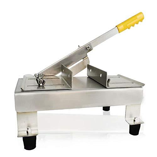 Fleischschneidemaschine Elektrische Schneidemaschine Edelstahlklinge für Präzisionsschneiden Elektrische Schneidemaschine für FleischBrot und Käse Klingenschutz aus Kunststoff für rutschfeste Füße