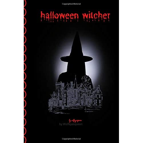 halloween witcher: halloween witcher notebook :Halloween Wide Ruled (6 x 9) in 140 pages Composition Book halloween witcher and super inetrior desgne