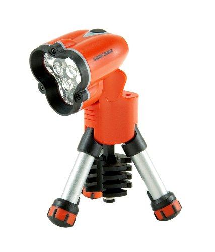 Black+Decker BDHT0-71626 - Linterna de LED con tripode