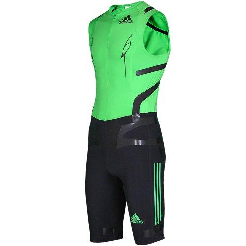 Adidas Adizero Powerweb Sprintanzug ADIZERO TPU SL SUIT Men intensgreen - black (XL) V32414