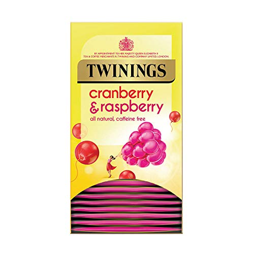 Twinings Infusion Tea Bags Individually-wrapped Cranberry