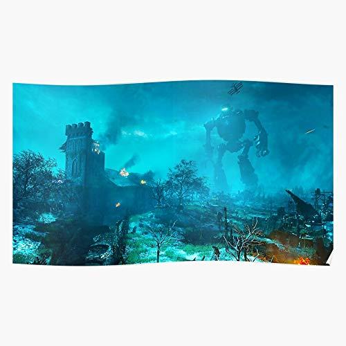 MADEWELL Zombies 2 3 of Call Duty Black Cod Ops Origins Das eindrucksvollste und stilvollste Poster für Innendekoration, das derzeit erhältlich ist