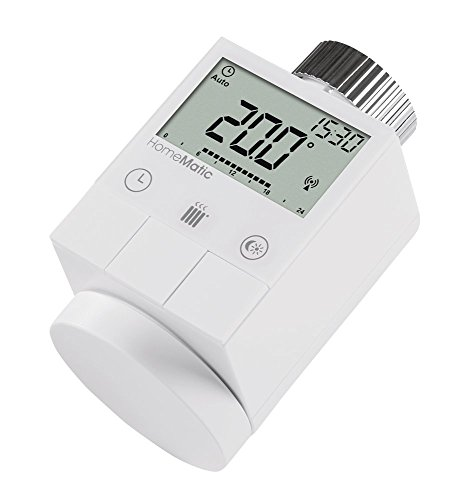 Homematic Smart Home Funk-Heizkörperthermostat, 105155, 1er