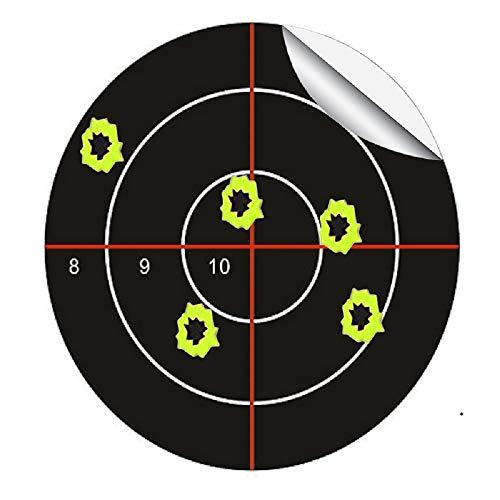 Splatter Blossom Target - Pegatinas con diseño de Cruz (8910, 7,5 cm de diámetro, Diana de Tiro, Deportes al Aire Libre e Interior, 100 Unidades)
