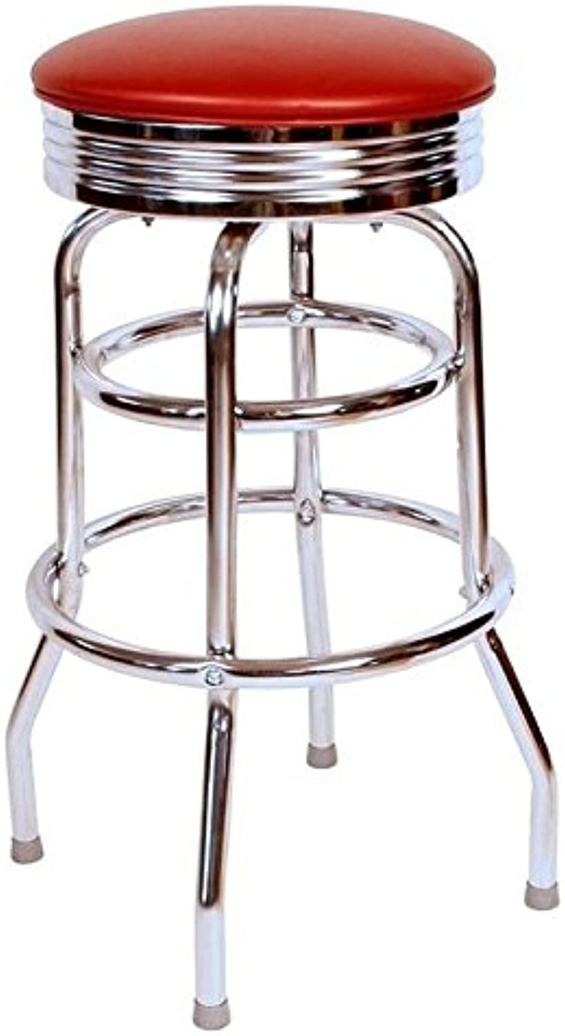 Pemberly Row 30  Swivel Bar Stool in Wine
