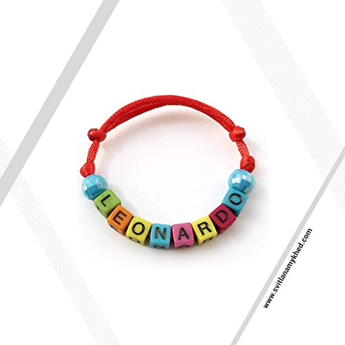 Namensarmband (reversibel, anpassbar) LEONARDO Mann, Frau, Kind, Baby, Neugeborenes.