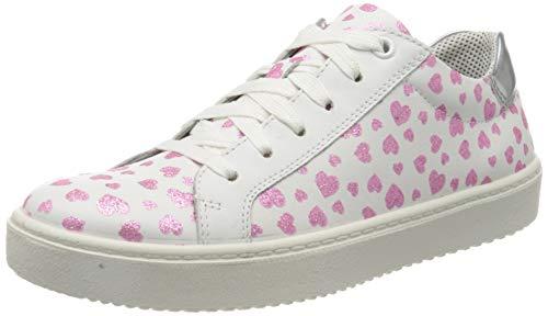 Superfit Mädchen Heaven Sneaker, Weiß (Weiss/Rosa 10), 39 EU