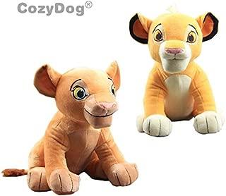 Korean World 2 Pcs/Set Plush Toy Simba New Sitting Model Doll Educational Toys Nala Soft Stuffed Animals 11