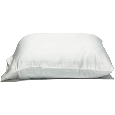 Fits Even The Fluffiest 300TC 100/%Cotton Oversize Pillow Case Queen Extra Large