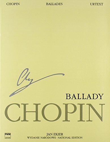 Ballades op. 23, 38, 47, 52: National Edition
