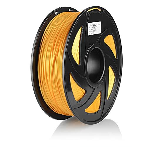 S SIENOC 1Kg Composite PLA 1,75mm 3D Printer Filamento Spool 3D Materiale di stampa per stampanti (PLA Oro)
