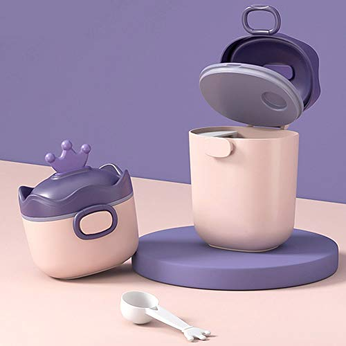 HAIMEN Dispenser per Latte in Polvere, Contenitore Portatile per Latte in Polvere per Neonati di Grande capacità per Camera da Letto da Viaggio all'aperto