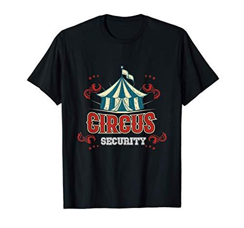 Disfraz de seguridad de circo de regalo Camiseta