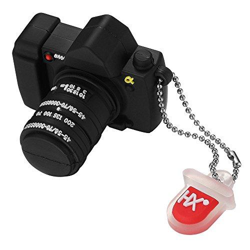 Leaders 8GB/16GB/32GB bonito diseño de cámara Almacenamiento de Datos Memoria USB 2.0 Flash Drive Memory Stick Pendrive Regalo (16.0 GB)