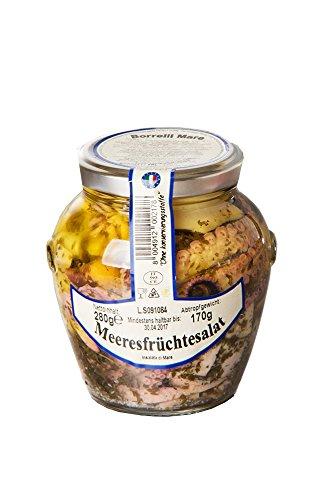 Borelli Mare Meeresfrüchtesalat - Eingelegt in Öl, 1er Pack (1 x 280 g)