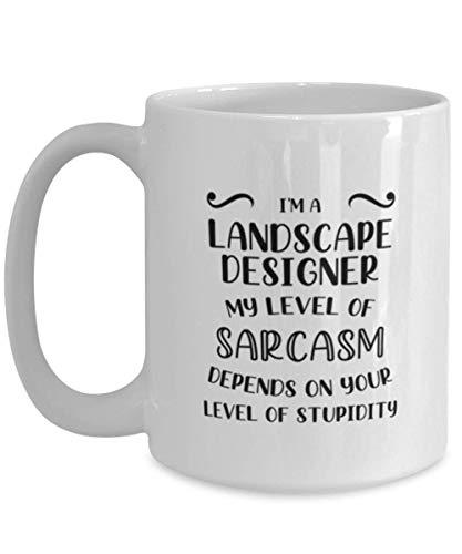 deas divertidas de la taza de café del diseñador del paisaje para el cumpleaños o la Navidad. Eres un gran, gran paisajista, muy especial, muy guapo, enorme corazón, realmente fantástico. Créanme todo