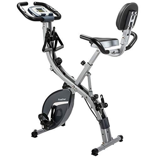 Finether Bicicleta Estática Plegable Magnética