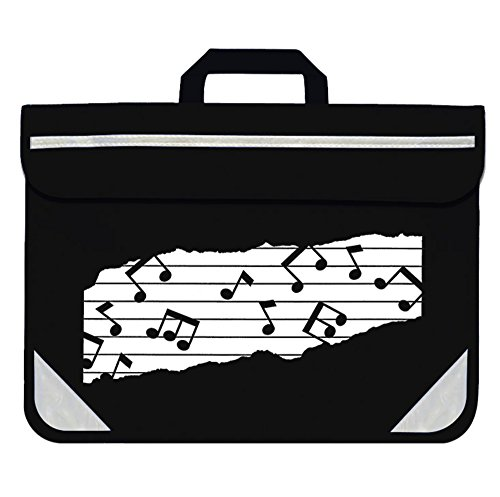 Mapac: Music Bag Duo - Music Notes (Black)