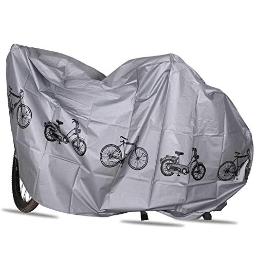 Bike Cover, Outdoor Waterproof Bicycle Storage, Waterproof, Anti-UV, Offers Constant Protection All Through The 4 Seasons,2pcs