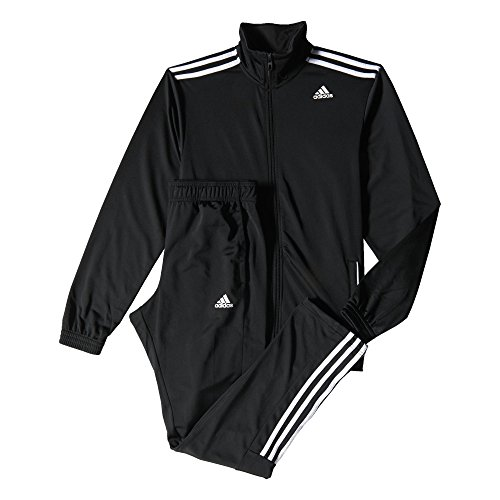 Adidas Team Sport Entry Survêtement Homme, Noir/Blanc, FR : S (Taille Fabricant : S)