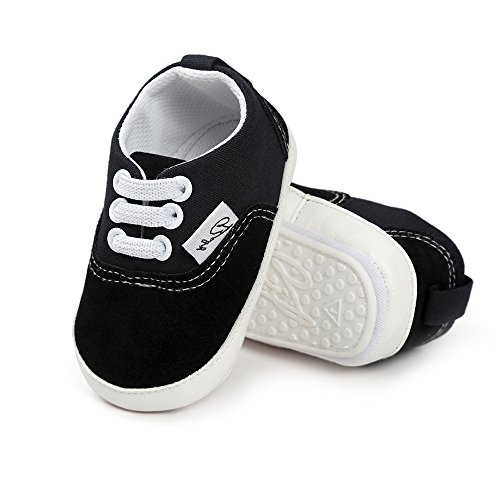 Kids Canvas Sneaker Slip-on Baby Boys Girls Casual Fashion Shoes-CAND041-White-30