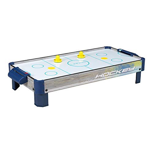 Air Hockey Tabletop Game Table for Kids | Lanos 40 Inch Electronic Air Hockey Game with Powerful Air...