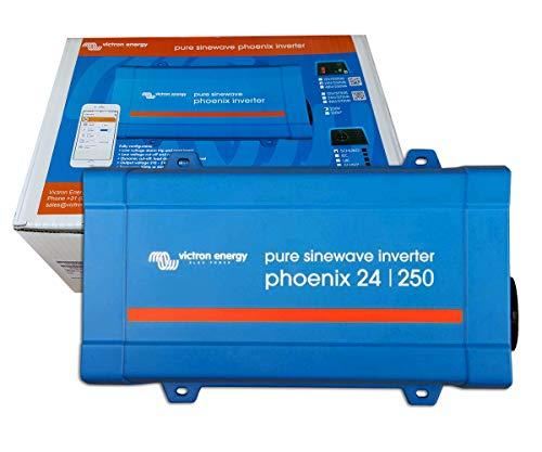 Inversor Onda Pura 24V 250VA Victron Energy Phoenix 24/250 VE.Direct Schuko | Aplicaciones Solares o Automoción