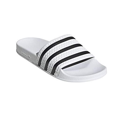 adidas Adilette - Chanclas de baño, color Blanco, talla 37 EU