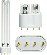 Coralife 6x, 77084, Turbotwist 18 Watt, 18W, OEM Quality Premium Compatible Replacement 2G11 4 Pin Base, UV Lamp 10000 Hours, 12 Month Guaranty!,