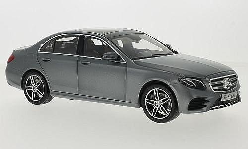 Mercedes E-Klasse (W213) AMG Line, matt-grau, 2016, Modellauto, Fertigmodell, I-iScale 1 18