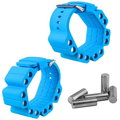 ZIXIXI Pesas de muñeca y tobillo – Pulsera de peso portátil intensifica el fitness, ejercicio, caminar, trotar, gimnasia, aeróbic, yoga, gimnasio