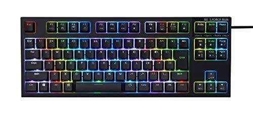 東プレ REALFORCE RGB TKL R2TLA-JP4G-BK 日本語配列 PCゲーマー向けキーボード