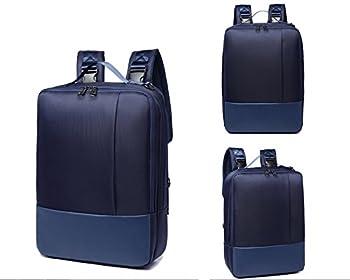 Blue Hybrid Backpack Briefcase Messenger Bag for Lenovo IdeaPad 320 15  / ThinkPad E575 / E570 / L570 / T570 / T560 / Lenovo Y520 / Legion Y720 / Lenovo Yoga 710 15  / Lenovo Flex 5 15  Laptop