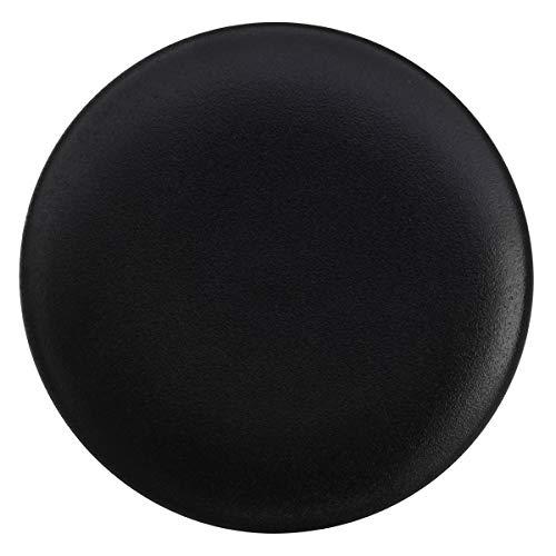Bruno Evrard Assiette Plate en Porcelaine 27cm - Lot de 4 - Caviar