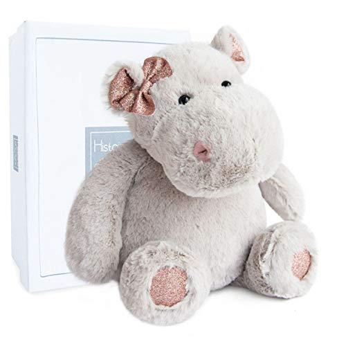 Histoire d'Ours Plüschtier Hippo für Mädchen, 38 cm
