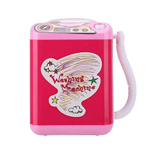 Mini wasmachine speelgoed, elektrische wasmachine simulatie kantoor desktop opbergdoos, potlood houder kinderspeelgoed voor cadeaus voor meisjes/kleine jongens