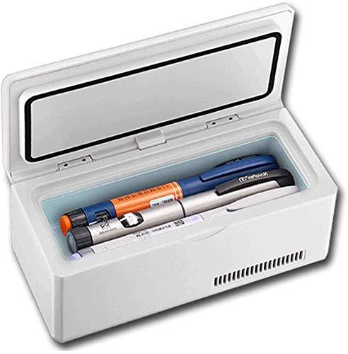 Draagbare medicijnkoeler met display, elektrische koelbox, 2-8 °C constante temperatuurkoelkast With Battery