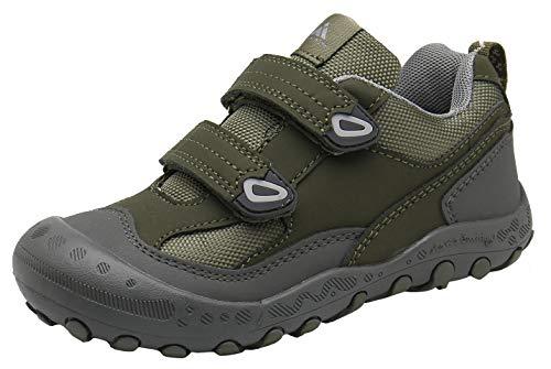 Mishansha Zapatillas Deportivas Ligeras Niños Casual Moda Zapatos de Gimnasia para Caminar Transpirable Cómoda Zapatillas de Corre Verde Gr.29