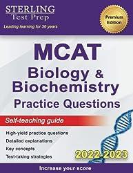 7 Sterling Test Prep MCAT Biology Biochemistry Practice Questions