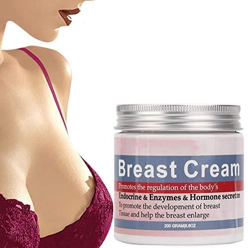 200g de crema para agrandar los senos, crema hidratante para agrandar los senos y glúteos, reafirmante y reafirmante para el cuidado del pecho