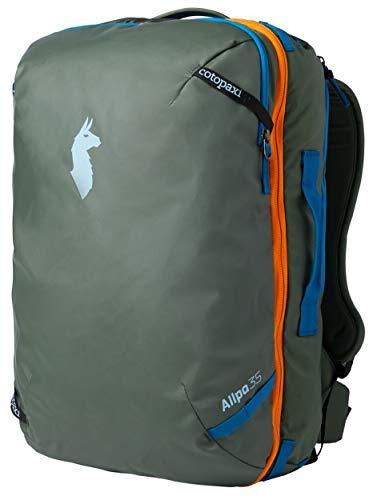 Cotopaxi Allpa - Mochila de viaje, 35L US, Spruce 35L + nuevo cinturón de cintura.