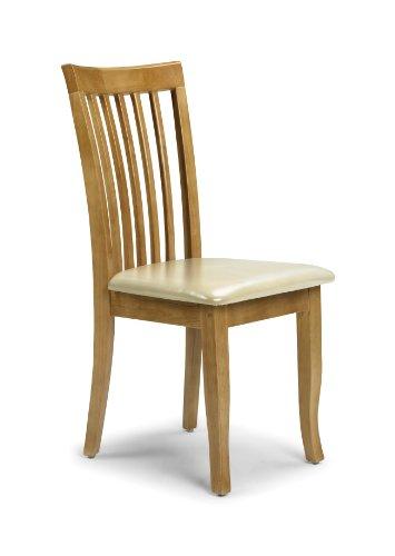 Julian Bowen Newbury - Set di 2 sedie per tavolo da pranzo