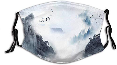 kangyuan Verstellbare Mundschutz Chinesische Malmasken Austauschbare Filter-Sturmhauben